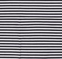 Streifen breit Jersey schwarz