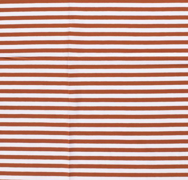 Streifen breit Jersey rost