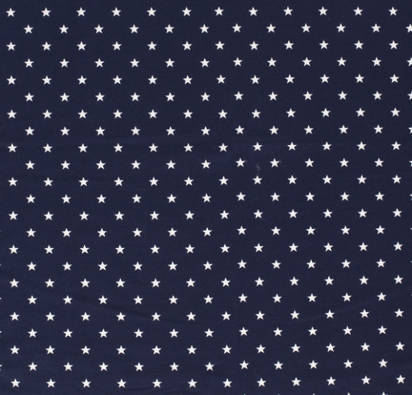 Sterne Jersey dunkelblau