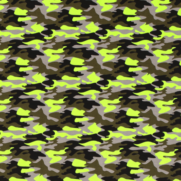 Camouflage Jersey neon