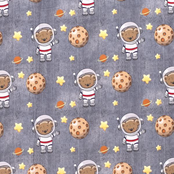 Spacebear Sweat jeansgrau