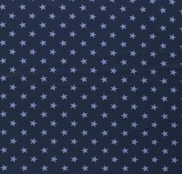 Sterne Sweat hellblau/dunkelblau