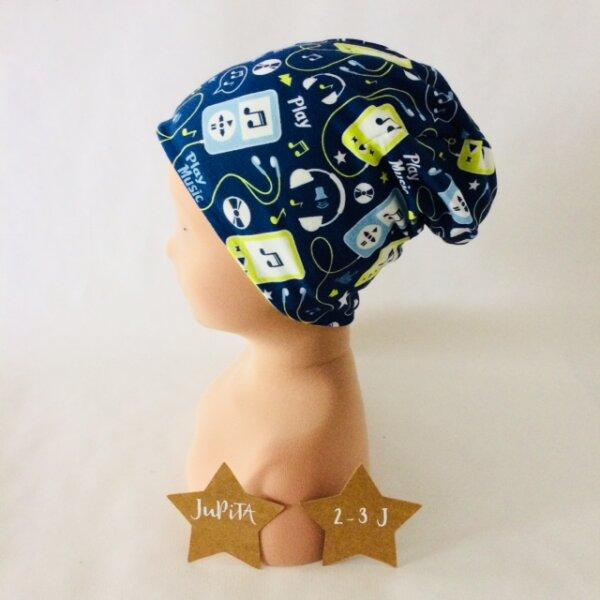 Beanie MP3 dunkelblau