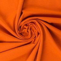 Baumwolljersey 000424 uni, orange