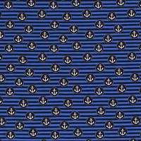 Anker gestreift Jersey blau