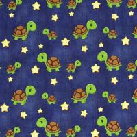 Schildkröten Jersey jeansblau