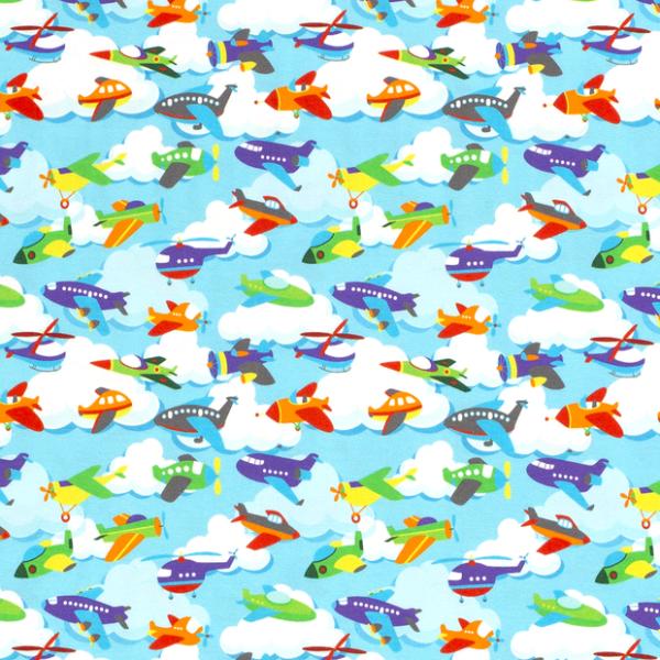Flugzeuge Jersey himmelblau