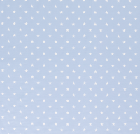 Sterne Jersey hellblau