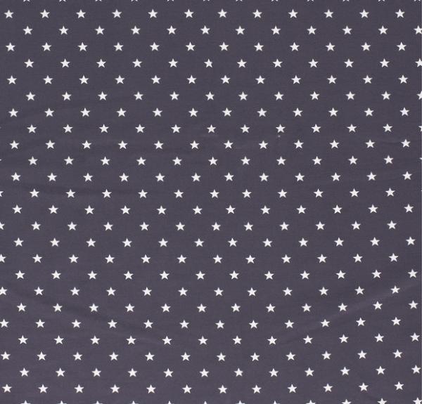 Sterne Jersey dunkelgrau