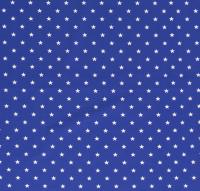 Sterne Jersey royalblau