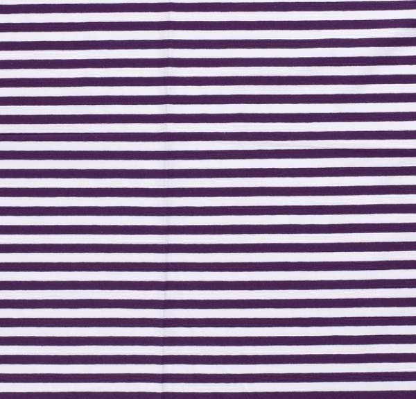 Streifen breit Jersey violett