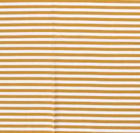 Streifen breit Jersey senf