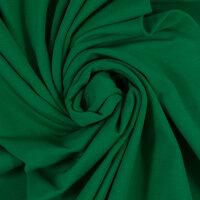 Baumwolljersey 000365 uni, grasgrün
