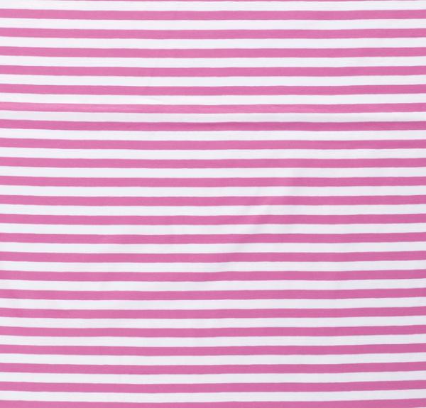 Streifen breit Jersey rosa