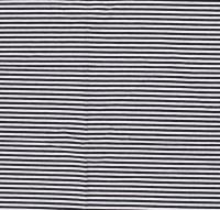 Streifen schmal Jersey schwarz
