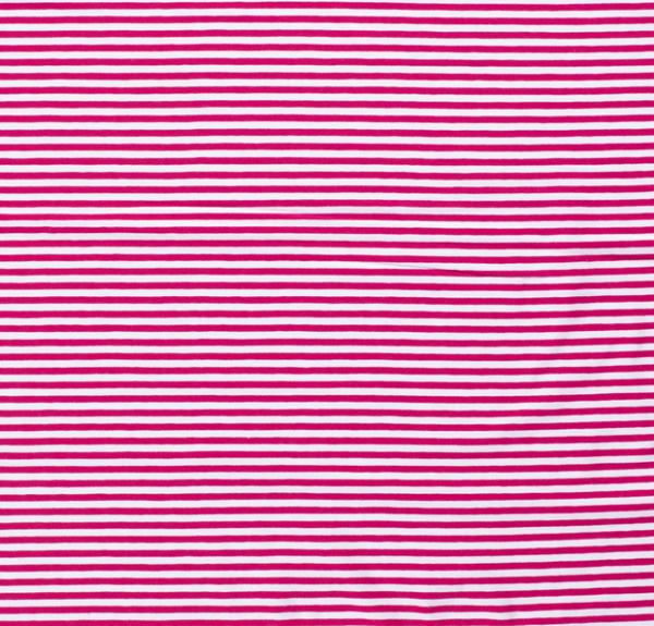 Streifen schmal Jersey pink