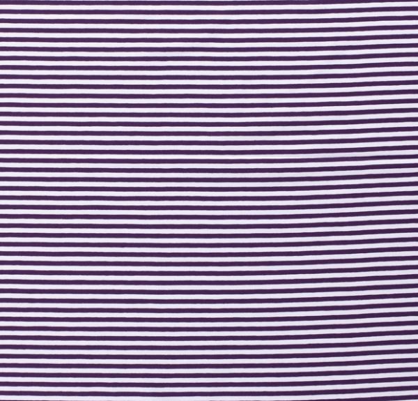 Streifen schmal Jersey violett