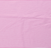 Streifen schmal Jersey rosa