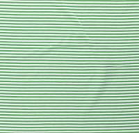 Streifen schmal Jersey apfelgrün