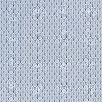 Blättermuster Baumwolle blau