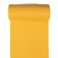 Ringelbündchen gelb/braun