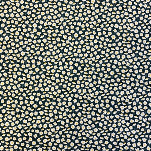 Gänseblümchen Bio-Baumwolle dunkelgrün