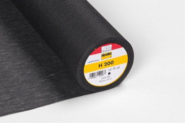 Vlieseline H200 schwarz