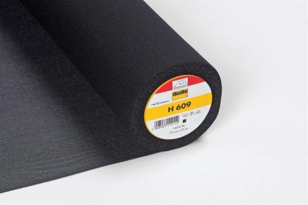 Vlieseline H609 schwarz