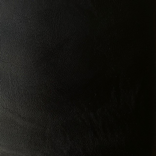 Kunstlederjersey schwarz