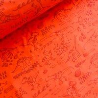 reflektierender Dino Softshell orange