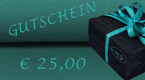 Gutschein [€ 25,00]