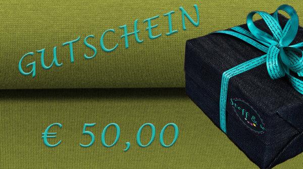 Gutschein [€ 50,00]