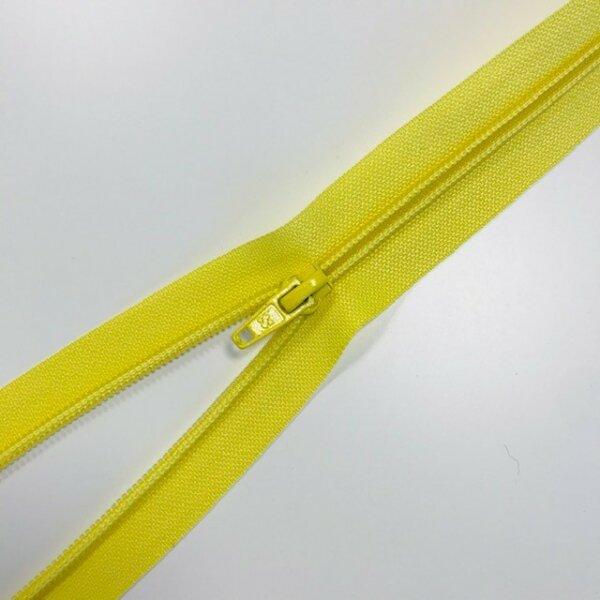 Reißverschluss teilbar 75cm gelb