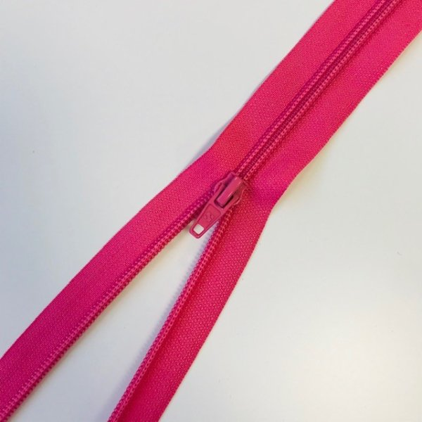 Reißverschluss teilbar 75cm pink