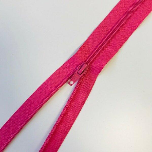 Reißverschluss teilbar 70cm pink