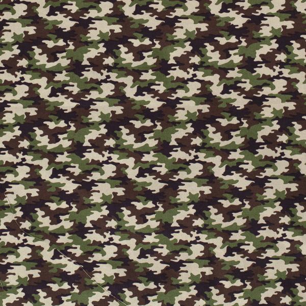 Camouflage Baumwolle grün