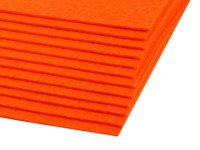 Bastelfilz 20x30cm orange