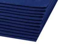 Bastelfilz 20x30cm dunkelblau