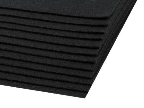 Bastelfilz 20x30cm schwarz