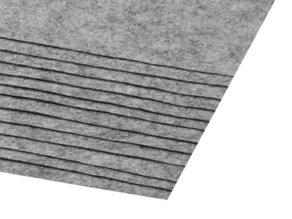 Bastelfilz 20x30cm grau