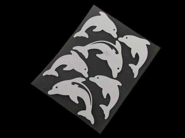 Reflektierende Aufbügler Delfine
