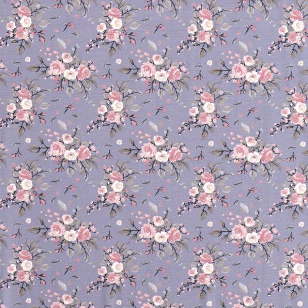 Rosen Jersey grauviolett