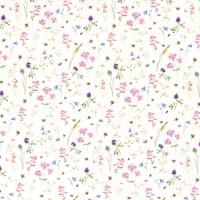 Wiesenblumen Jersey offwhite