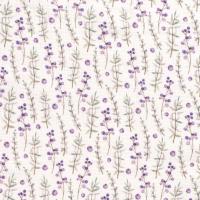 Heidelbeeren Musselin weiß