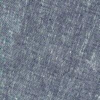 Leinen Baumwolle uni jeansblau