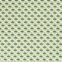 Fächer Baumwolle grün