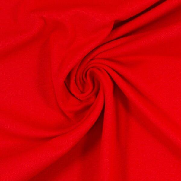 Feinstrickbündchen 000636 uni, rot