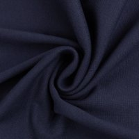 Feinstrickbündchen 000599 uni, dunkelblau