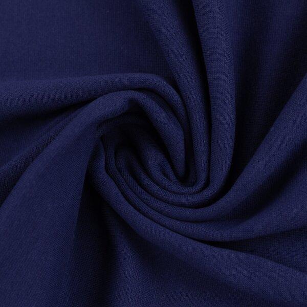 Feinstrickbündchen 000598 uni, dunkelblau