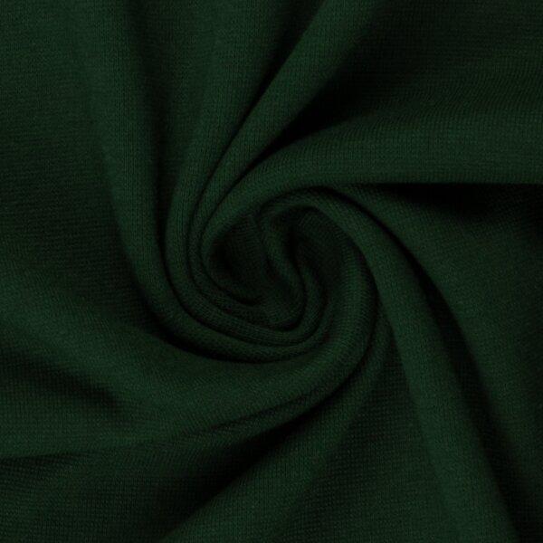 Feinstrickbündchen 000564 uni, dunkelgrün
